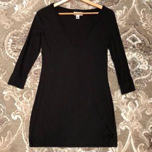 LOFT petites black tunic